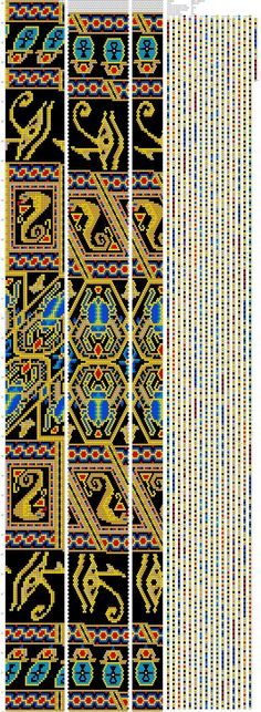 Beaded beads tutorials and patterns, beaded jewelry patterns, wzory bizuterii koralikowej, bizuteria z koralikow - wzory i tutoriale Bead Crochet Patterns, Bead Crochet Rope, Beaded Jewelry Patterns, Beading Patterns, Crochet Beaded Necklace, Beaded Crochet, Peyote Beading, Fabric Beads, Tapestry Crochet