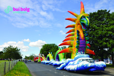 Available as a float or static installation from Bui Bolg Jazz Festival, Community Events, 40th Anniversary, Street Art, December, Spring Summer, Invitations, Save The Date Invitations, Shower Invitation