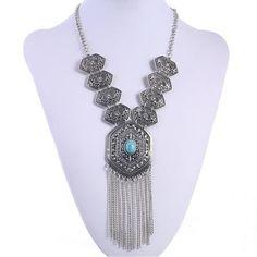 EZ Tassel Necklace