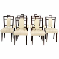 1stdibs | Set of 10 Superb and Rare Dining Chairs by William Haines