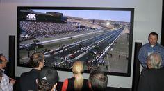 Panasonic has unveiled the world's largest HD 3D plasma display TV.