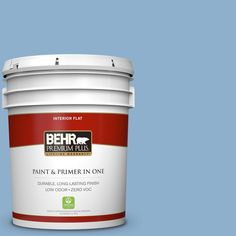 BEHR Premium Plus 5-gal. #M510-3 Sailor's Knot Flat Interior Paint