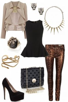 Glamourous Party Rocker!  #style #fashion #outfit