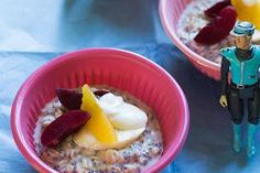 Out of this world overnight oats