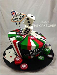 Las Vegas Cake #travel #cake #birthdaycake