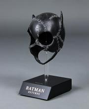 25 - Live Auction - Catwoman's (Michelle Pfeiffer) Mask Catwoman Comic, Catwoman Cosplay, Batgirl, Michelle Pfeiffer Catwoman Costume, Costume Batman, Batman Returns 1992, Keaton Batman, Divas, Michael Keaton