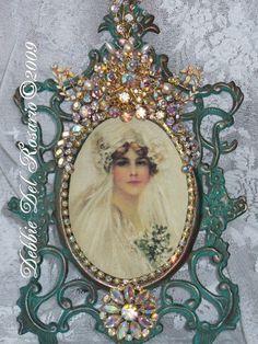 Beautiful Pink Rhinestone Amp Peacock Jeweled Linden Black