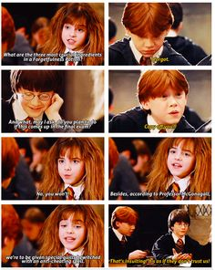Ron and Hermione: one of their best
