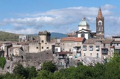 Randazzo, Sicily: a medieval town close to Mount Etna Regions Of Italy, Medieval Town, Catania, Barcelona Cathedral, Places To See, Paris Skyline, Europe, Island, Adventure