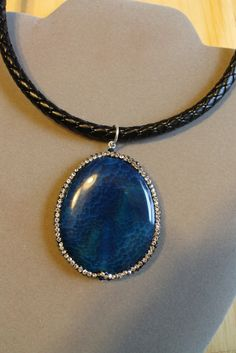 Blue Tides by StoneExpressions on Etsy
