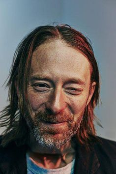 Thom Yorke :) Aging is quite beautiful.