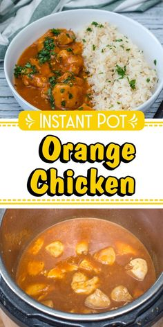 Wanna make Instant Pot Orange Chicken? Oh and I also have FREE pressure cooker recipes especially for you :) Best Chicken Recipes, Asian Recipes, Crockpot Recipes, Ethnic Recipes, Best Pressure Cooker Recipes, Instant Pot Pressure Cooker, Pressure Cooking, Quick Dinner Recipes, Quick Easy Meals