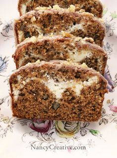 Pumpkin Cream Cheese Bread ♥