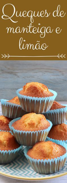 We suggest these butter lemon muffins for a snack with friends! They are fluffy, very tasty, have excellent presentation and are perfect to serve with a hot tea! Pretzel Desserts, No Cook Desserts, Delicious Desserts, Yummy Food, Healthy Food, Healthy Recipes, Alcoholic Desserts, Cocktail Desserts, Cocktails