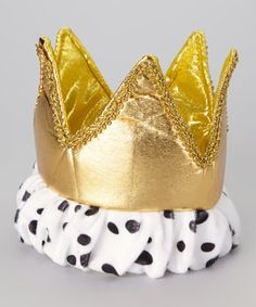 Look what I found on #zulily! Gold Royal Crown by Story Book Wishes #zulilyfinds