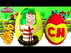 HUEVOS SORPRESA DEL CHAVO DEL OCHO EN ESPAÑOL. SURPRISE EGGS - YouTube