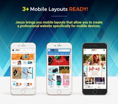 Jenzo - Drag & Drop Multipurpose OpenCart Theme with Mobile-Specific Layouts (OpenCart)