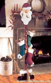 Santa Stocking Tree