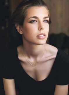 Charlotte Casiraghi has inherited her Mother's and her Grandmother's classic beauty.