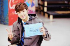Kang Min Hyuk  como Yoon Chan Young en Heirs