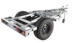 Chaser Adventure Trailer Chassis View
