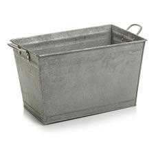 Wilko Galvanised Trough