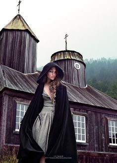Fashion Mila Krasnoiarova by Stevie & Mada for Tank Magazine Fall 2011