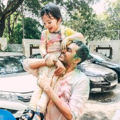 The best Holi with family!! Nothing pretty or delicate about it. Nisha, Asher and Noah unleashed and did what they are suppose to! Just had… Beginning Of Spring, Hindu Festivals, Holi, Delicate, Couple Photos, Celebrities, Pretty, Couple Shots, Celebs