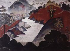 Н.К. Рерих (1874-1947) Никола Можайский. 1920