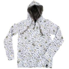 Etnies Ladies Etnies Imperial F/zip Hoody White 100 An amazing hoody with super soft furry lining in the hood. Covered in a cute pattern of lots of random things like dice guitars cars stars etc: and the zip pull is of a tiny padlock. http://www.comparestoreprices.co.uk/ladies-fashion-tops/etnies-ladies-etnies-imperial-f-zip-hoody-white-100.asp