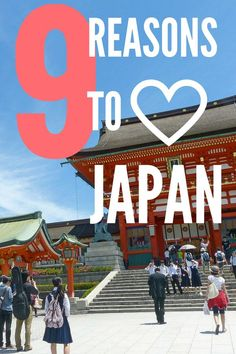 9 Reasons I Will Always Love Japan is an article that expresses the intricacies of travel and life in Japan. Beyond the food and attractions, Japan has a rich culture that is like no other in the world. Go beyond the sushi and discover the magic of Japan for yourself. • MatadorNetwork.com - Discover Your Next Travel Destination •