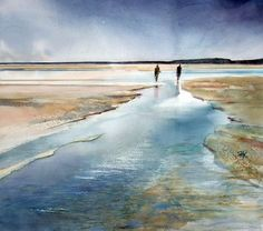 Baie de Somme by Françoise-Marie Klein