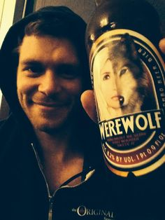 From Joseph Morgan's twitter. I need that hoodie!