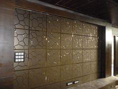 A-017, Light bronze Mirror Tiles, Wall Tiles, Glass Tiles, Floor Design, Glass Design, Divider, The Creator, Clock, Bronze
