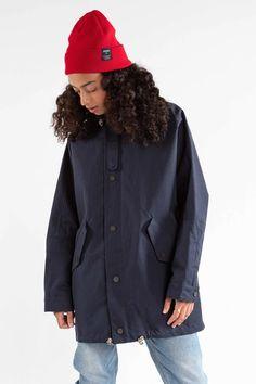 The LADIES' COAT – JECKYBENG Lady, Coats For Women, Rain Jacket, Windbreaker, Surf, Material, Jackets, Mountain, Nature