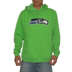 Mens Seattle Seahawks  Charcoal Field Of Play Pullover Hoodie