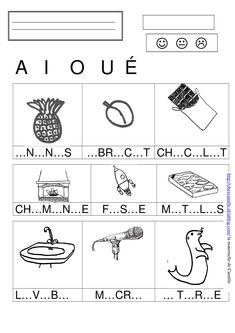 Montessori, Maternelle Grande Section, French Language Lessons, French Worksheets, Language Acquisition, Camille, Teaching French, Early Learning, Kids Education