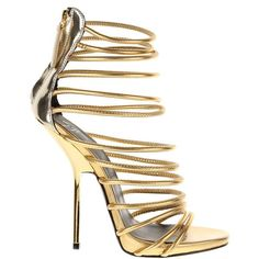 GIUSEPPE ZANOTTI Sandals ($680) ❤ liked on Polyvore featuring shoes, sandals, heels, high heels, zipper shoes, leather footwear, giuseppe zanotti, heeled sandals and zipper sandals