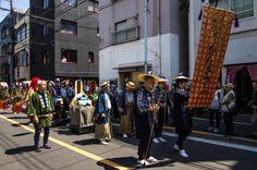 Asakusa Sanja Matsuri parade 3/17 Then there is the Binzasara crew: binzasara is a Sensoji dance tradition going back to the Edo times. #Asakusa, #Sanja, #Matsuri, #parade #binzasara Taken on May 16, 2014. © Grigoris A. Miliaresis