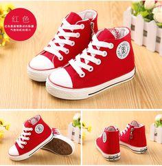 Счастливые Кролик обувь высокого верха обуви холст, детская обувь белые туфли мальчиков и девочек Детская обувь Весна 2015 - Taobao