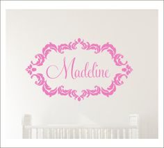 Welcome Yall Decal Door Decal Vinyl Decal Wall Decor Door Decor - Custom vinyl wall decals damask