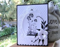 FLoral Silhouette by jasonw1 - Cards and Paper Crafts at Splitcoaststampers