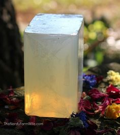 Homemade No Lye Herbal Soap | Most-Liked Homemade Soap Recipes For Frugal Homesteaders