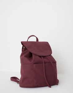:Backpack with a front flap