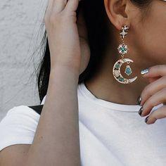 @alvinaaaa wearing the sailor moon earrings