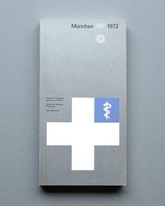1972 Munich Olympics Medical Personel Guide — Otl Aicher