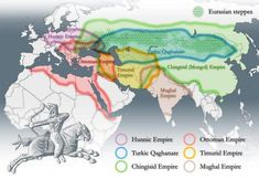 Turkic and Mongolian Empires. Turkic and Mongolian Empires. History Timeline, History Photos, Historical Architecture, Historical Maps, Islamic Architecture, Timurid Empire, Semitic Languages, Turkic Languages, Eurasian Steppe