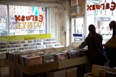 New York City's best independent record stores sell rock, hip-hop, soul and more, all with a human touch.