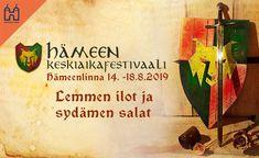 Hämeen keskiaikafestivaali 2019 | - liput - | Tiketti Sissi, Paper Shopping Bag