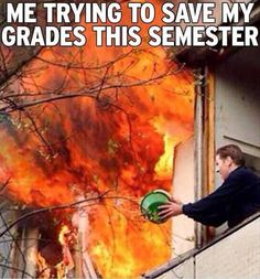 Pretty much. Thank god this semester is almost over.